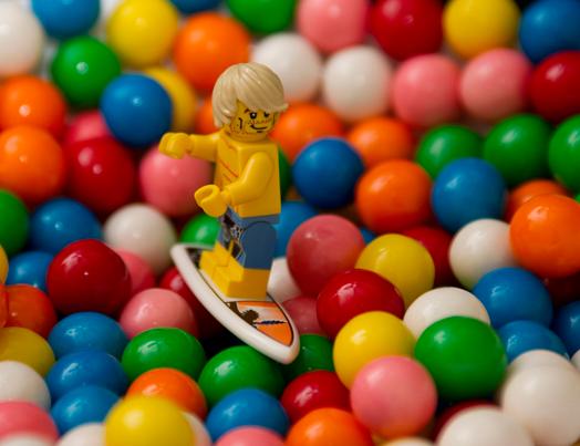 """""""Bubblel Gum Surfer"""" Mike Small"""