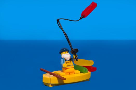 "Mike Small, ""Swedish Fisherman"""