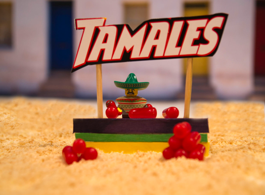 "Mike Small, ""Tamales for Sale"""