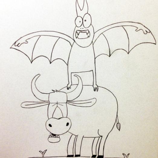 Mythical Beast Wars: Batsquatch