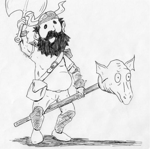 Mythical Beast Wars Dwarf vs Dragon