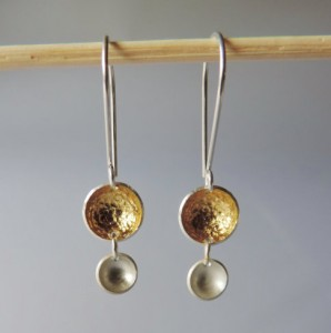 River Bottom Earrings by McKenzie Mendel