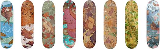 Taylor Rose Skate Decks