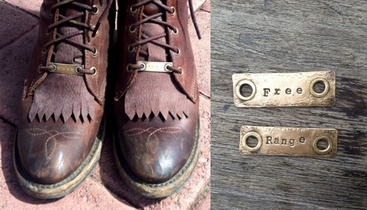Bootlace Tags by Howl
