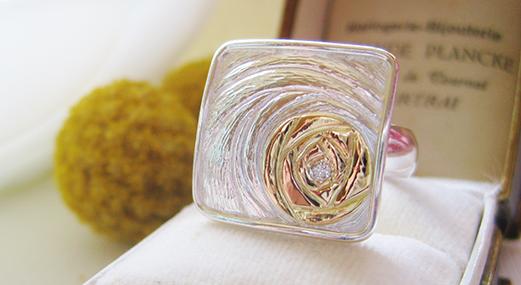 Jewelry Designer McKenzie Mendel ring