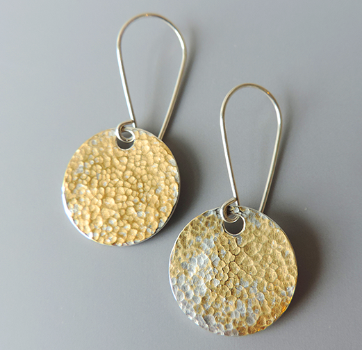 Jewelry Designer McKenzie Mendel Gold Dust Earrings