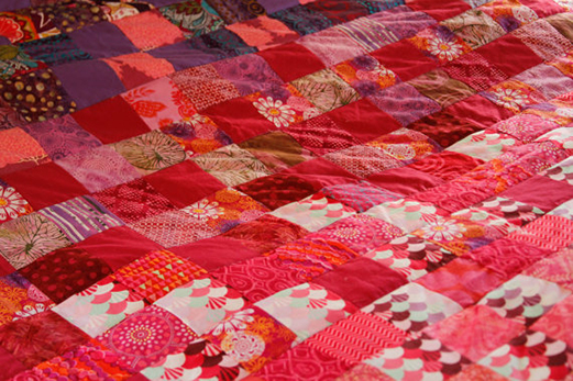 The Tangle Path Quilt