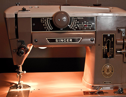 Natalie's Singer Sewing Machine