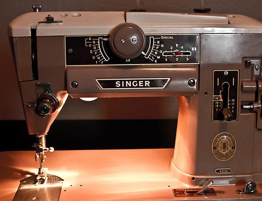 Natalie's Singer Sewing Machine