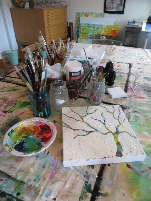 MaryLea Harris favorite art tools